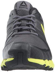 Reebok Mens ZigWild Tr 5.0 Running Shoe ash Grey Black Electric Fabric 11 M  US   Continue to the product at the image link-affiliate link. 5878141d2