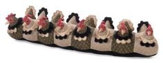 Dora Designs Laying Hens Draught Excluder