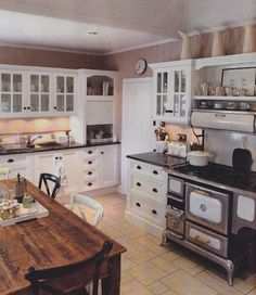 I love the old stove