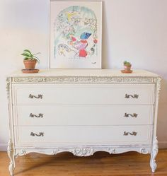 Funky Furniture, Upcycled Furniture, Furniture Making, Vintage Furniture, Painted Furniture, Furniture Ideas, Antique Chest, Mineral Paint, Chalk Paint