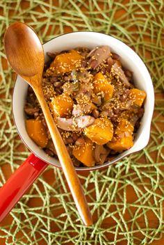 millet & kale salad | Aidee Frescas || Eats | Pinterest | Kale, Beans ...