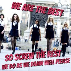 St Trinian's theme song's quote