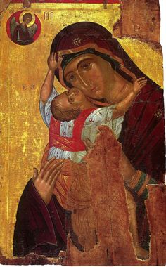 Religious Icons, Religious Art, Prayer Images, Byzantine Icons, Madonna And Child, Blessed Virgin Mary, Art Icon, Adam And Eve, Orthodox Icons