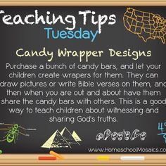 Teaching Tips Tuesday: Candy Wrapper Designs