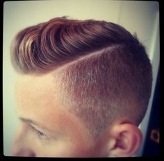 Not a guy but I think this is a hot hair style for men!!
