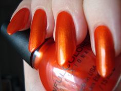 Sinful Colors Courtney Orange
