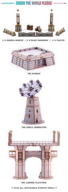 star wars legion terrain tower