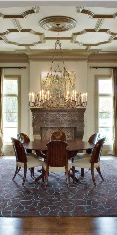 LUXE Show Home dining room