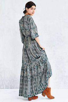 Ecote Joni Boho Maxi Dress
