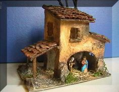 Risultati immagini per pesebres en icopor Nativity Creche, Christmas Nativity Scene, Nativity Crafts, Christmas Villages, Christmas Wood, Christmas Crafts, Christmas Decorations, Christmas Ornaments, Fairytale House