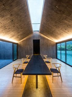 DnA architecture and design casts concrete damushan tea house zhejiang province china