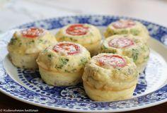 Hiidenuhman keittiössä: Munakasmuffinsit