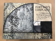 """""""Disquieting Obsessions"""" encaustic Messenger Bag, My Arts"""