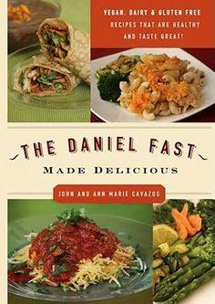 Daniel Fast cookbook.