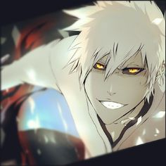 Bleach - Hollow Ichigo . . . . Just as FINE as sole reaper Ichigo ^-^