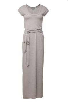 Tee shirt dress.MAXI dress. Long grey dress. LIGHT grey dress. Womens maxi dress. Winter dress.Tshirt dress. 10% OFF on Etsy, $72.00
