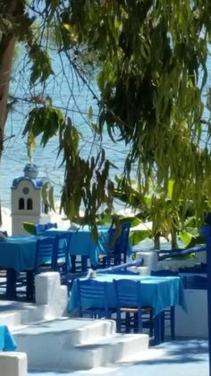 Beach side taverna at Halkithiki Greece, Beach, Outdoor Decor, Home Decor, Greece Country, Decoration Home, The Beach, Room Decor, Beaches