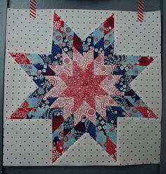 Lone Star Block tutorial | Hopeful Homemaker