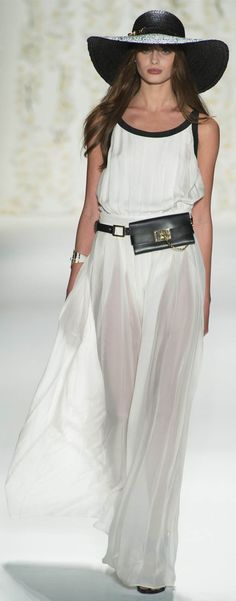 Rachel Zoe - Spring Summer 2013 Ready-To-Wear - Shows - Vogue. New York Fashion, Runway Fashion, Fashion Show, Womens Fashion, Fashion Tag, Big Fashion, Dress Fashion, Rachel Zoe Collection, Spring Collection