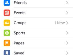 Facebook appears to be experimenting with adding the secondary categories for mobile News Feed that surfaced late last year to its flagship application's menu bar.