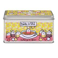 Boîte à thé Laissez reposer - Derrière La Porte DLP - Accessoire cuisine et rangement/Boite à café, thé et cacao - espritlogis-fr
