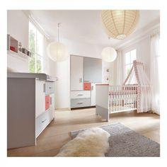 Luxury Chambre d enfant Schardt Candy rouge lit mode langer armoire portes