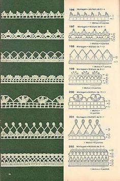 Картинки по запросу bicos de croche com graficos