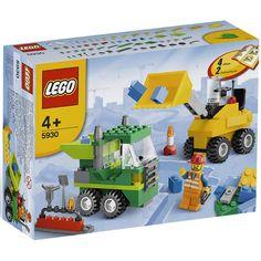 Đồ chơi LEGO 5930 Road Construction Building Set – Công trường xây dựng