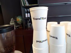 How we start a day at TravelBird?With the best coffee in the world!