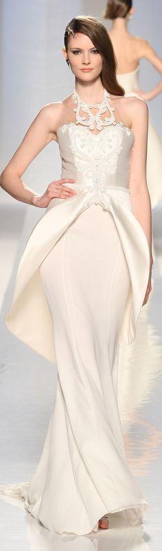 88dff0dfece Fausto Sarli haute couture wedding gown