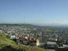La Piedad. Panorama rumbo a la meseta y al fondo cerros de Guanajuato