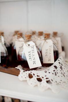Sweet Homemade Vanilla Favors