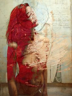 title unknown ~ mixed media ~ by jaya suberg