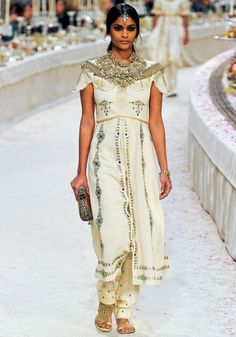 Chanel pe-fall 2012 - This is basically Paki Indian Clothes ...
