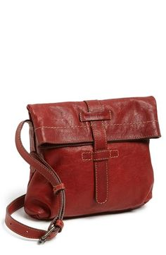 Frye 'Artisan Foldover' Leather Crossbody Bag