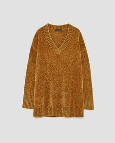 Plus Size Casual Women Batwing Sleeve V-Neck Bling Sweaters - Banggood Mobile Women's V Neck Sweaters, Chenille, Plus Size Casual, Ribbed Sweater, Autumn Winter Fashion, Knitwear, Zara, My Style, Clothes