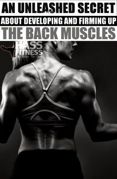 An Unleashed Secret About Developing And Firming Up The Back Muscles By: @hassfitness #women #fitness #motivation #bodybuilding #training