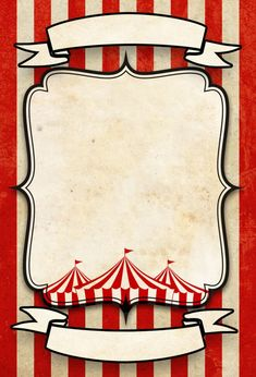 Circus Vintage Card via Etsy Customizable See details on Etsy: Circus Vintage customizable cards Circus Vintage card templates easy to customize for your birthday, wedding, baby shower and any other celebration. The package contains… Circus Theme Party, Carnival Birthday Parties, Circus Birthday, It's Your Birthday, Party Themes, Circus Wedding, Birthday Cards, Decoration Cirque, Circus Decorations
