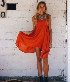 boho chic #bohemian #dresses