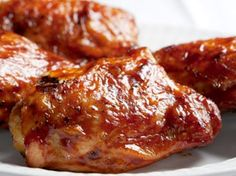 Famous Barbecue Chicken   This mouth-watering dish is an annual tradition at one of Alabama's can't-miss food festivals.   As served at the Alabama Chicken and Egg Festival, Moulton
