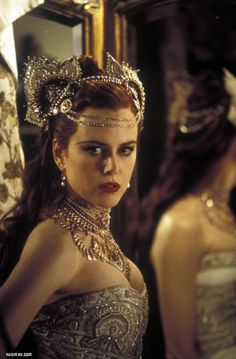 Nicole Kidman: Moulin Rouge. That amazing headdress