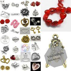Onze Valentijnscollectie! | www.bykaro.nl voor kralen, bedels en meer...