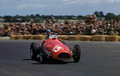 Alberto Ascari Wins The  British Grand Prix British Grand Prix Ferrari F Formula