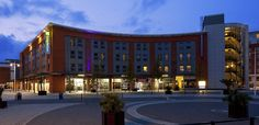 Holiday Inn Express Portsmouth - Gunwharf Quays, Portsmouth #travelinspiration