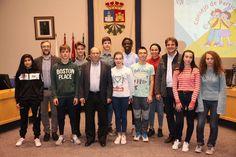 25 niños y adolescentes han ocupado hoy los escaños municipales del Salón del Plenos para celebrar una sesión especial presidida por el alcalde Manuel Robles con motivo de la celebración del Día Internacional de la Infancia