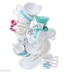 Disney-STORE-Jewelry-stand-Accessories-holder-Alice-in-Wonderland-JAPAN