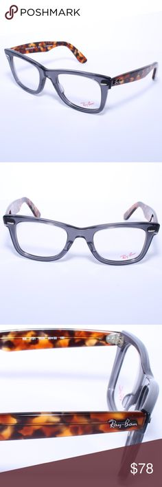 48f9784751 Ray Ban Wayfarer Eyeglasses RB5121 5629 Opal Grey Ray Ban Wayfarer  Eyeglasses RB5121 5629 Opal Grey