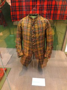 C1745 'Culloden' coat. For more information see Peter MacDonald's article at http://www.scottishtartans.co.uk/Culloden_Tartan.pdf