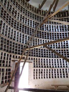Chateau d'Epoisses, Pigeonnier Pigeon Nest, Le Pigeon, Epoisses, Pigeon House, Night On Earth, Small Castles, Light Colored Wood, Genius Loci, Farm Projects