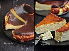 San Sebastian Cheesecake Tarifi - Hayat Cafe Kolay Yemek Tarifleri